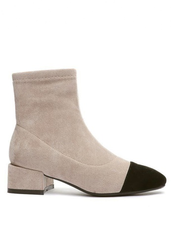 Twenty Eight Shoes Synthetic Suede Ankle Boots 2028-6 6FF94SHD07C0A8GS_1