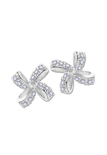SC Tom Silver silver Stud Stone Earrings-Ess333 SC872AC74JZXPH_1