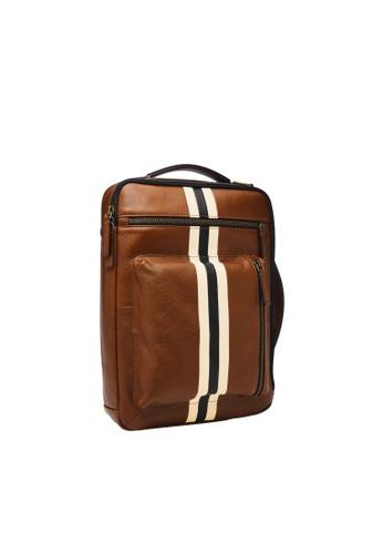 Fossil brown Buckner Shoulder Bag MBG9510222 91DAAAC188A3D7GS_1