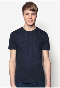 Textured Cotton T-Shirt
