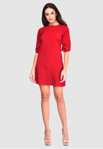 bee17d838e BoyFromBlighty red Half Sleeve Dress A8E31AAC8420EDGS 1