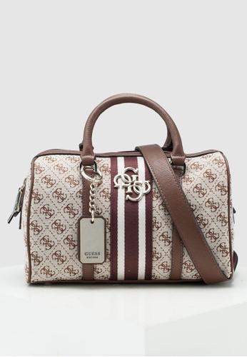 bbf9b56500d92 Buy Guess Guess Vintage Box Satchel Bag Online on ZALORA Singapore