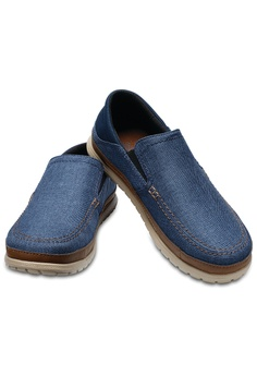 2c1f088f79a Crocs Men s Santa Cruz Playa Slip-On Navy Cob RM 253.00. Sizes 7 10 11