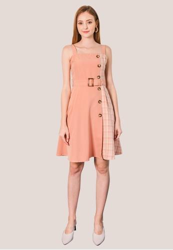 L'zzie pink LZZIE EMILY DRESS - PINK F38CDAADBD2ED7GS_1