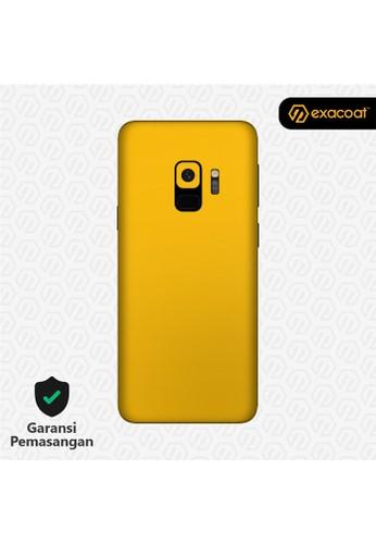 Exacoat Galaxy S9 Skins True Colors - Lemon Yellow 3BE21ES814DECAGS_1