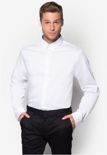 經典棉質長袖襯衫, 服飾, esprit outlet hk襯衫