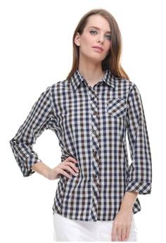 LGS grey LGS - Regular Fit - Kemeja Wanita - Motif Kotak - Grey  LG695AA0U9OCID 1 d6739a8d10