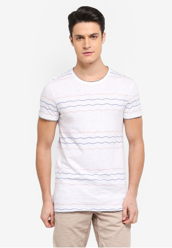 ESPRIT white Short Sleeve T-Shirt 9DC2DAA777ED1FGS_1