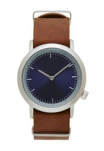LEUPP brown and blue Jin Watch QR B2451ACEDCB976GS_1