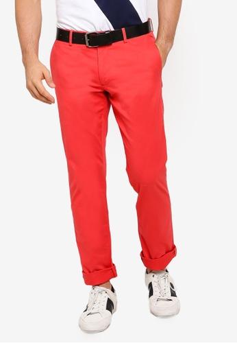 polo ralph lauren red Stretch Military Flat Pants C8B02AA26FC4D7GS_1