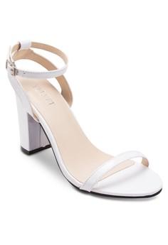 Dana Classic Minimal Strappy Chunky Heels
