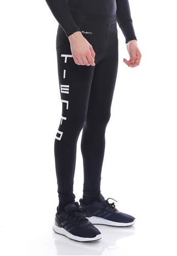 Jual Tiento Tiento Man Long Pants Typotype Black Celana Legging Pria Olahraga Renang Sepakbola Lari Original Original Zalora Indonesia