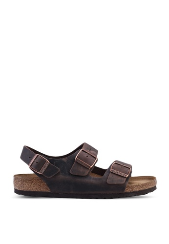 Milano Oiled Leather Sandals