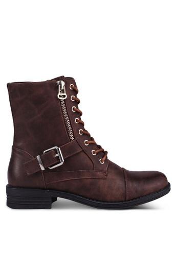 Call It Spring brown Gwaressa Boots 2D296SHCD9CC58GS_1
