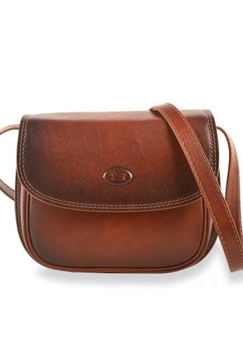 Charles Berkeley brown Charles Berkeley Italian Craftsmanship Toscana Vintage Sling Bag -4082 CF98AACE1FDBF4GS_1