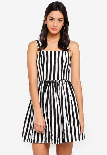 ZALORA multi Fit And Flare Dress 5DF46AA7314BAAGS_1