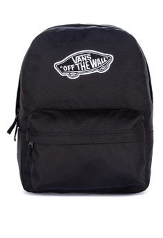 ad42a909f407f7 VANS black Realm Backpack DFA90AC9327CB4GS 1