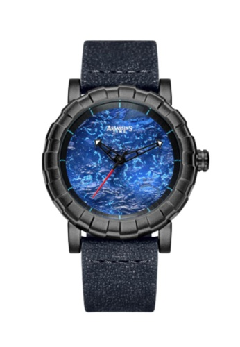 Assassin's Time black Assassin's Time PLANET Blue Leather 064B4AC33CA0F2GS_1