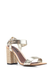 aa10db41 River Island Blake Two Part Block Heels S$ 72.90. Sizes 3 4 5 6 7