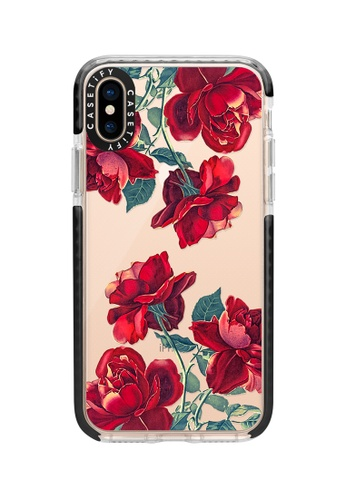 innovative design 325cc eec1c Red Roses Impact Protective Case for iPhone XS/ iPhone X