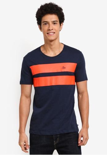 ESPRIT navy Short Sleeve T-Shirt 0B634AA8A48A52GS_1