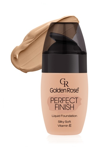 GOLDEN ROSE beige Perfect Finish Liquid Foundation - #64 GO743BE14FLLMY_1