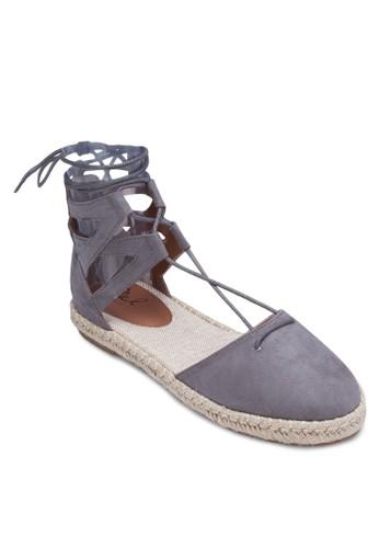 包頭繫帶esprit 錶羅馬涼鞋, 女鞋, 涼鞋