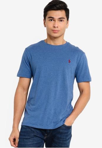 Polo Ralph Lauren blue Basic Logo Tee 4F4F2AAAA4E957GS_1