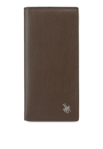 Swiss Polo brown Long Wallet 74ACCAC47CD48CGS_1