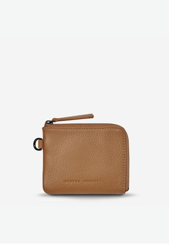 Status Anxiety brown Status Anxiety Part Time Friends Wallet - Tan 264C8AC69E3770GS_1