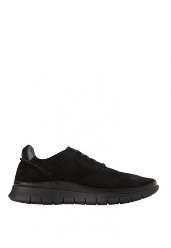 Vionic black Fresh Tucker Lace Up Sneakers 429C1SHCBCD8FCGS_1