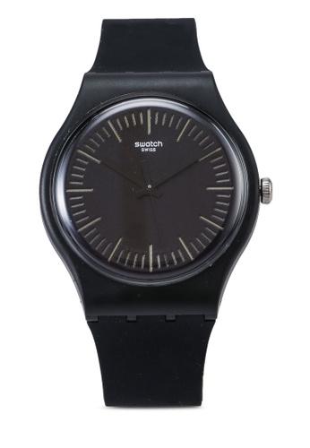Swatch black SUOB184 Black N Yellow Watch E6CFEACBF2AC6EGS_1