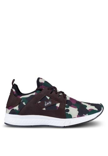 Louis Cuppers multi Camo Print Sneakers LO977SH0RF84MY_1