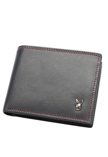 Playboy blue RFID Blocking Wallet 0F0D8AC25FA4CBGS_1