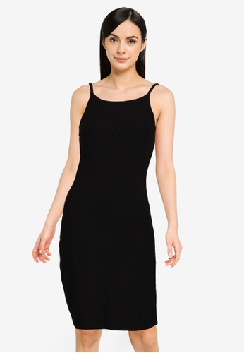 Noisy May black Petite Edda Short Dress 04E17AA960C8C5GS_1