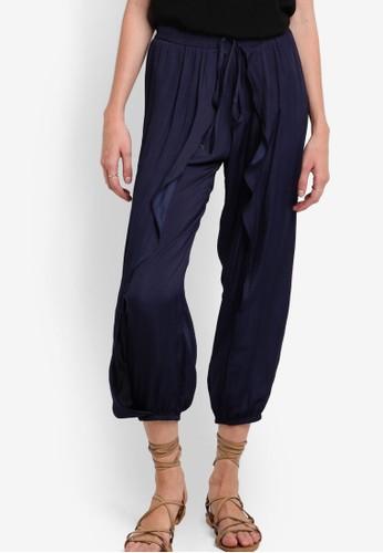 ZALORA Collection Overlap Harem Pants