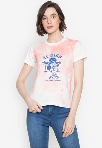 Artwork white El Nido T-Shirt D459DAA81DA1FBGS_1