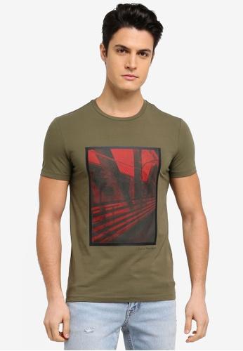 Calvin Klein purple Teage Slim Crew Neck Short Sleeve T-Shirt - Calvin Klein Jeans 59786AAB315307GS_1