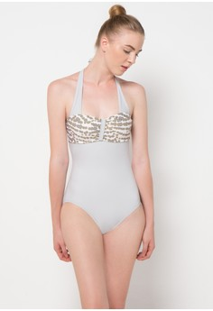 59213f649b6f LAVABRA Intimates grey Forever Summer - The Unforgettable One-Piece Swimsuit  LA387SE97IFQID_1