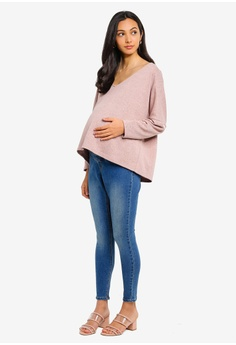 f7485a52406f4 15% OFF Dorothy Perkins Maternity Midwash Underbump Jeggings S$ 59.90 NOW  S$ 50.90 Sizes 6 8 12 14 16