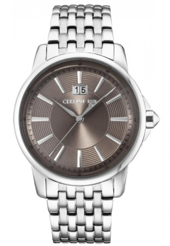CERRUTI 1881 silver Copper Dial Stainless Steel Men Watch CE514AC63QNOMY_1