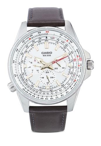 Casio brown Casio MTP-SW320L-7AVDF Watch 5E2D0AC4A6C52DGS_1
