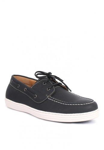 7soles black Yuri Men's Loafers 1236ASH04BD59CGS_1