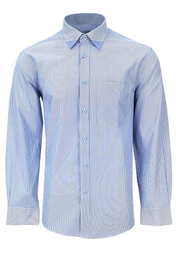 Pacolino blue Casual-Smart Long Sleeves Shirt PA995AA43CPOMY_1