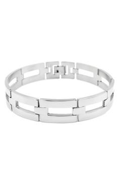 Alonzo Men's Chain Bracelet Bangle