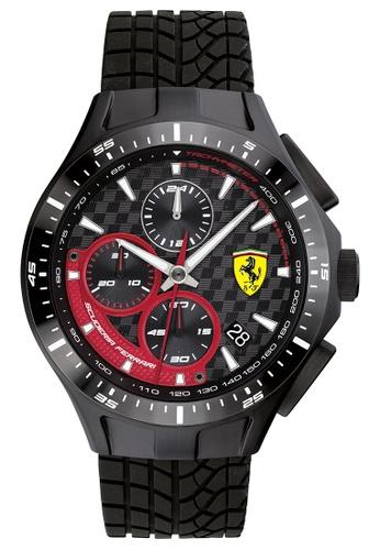 Scuderia Ferrari black Scuderia Ferrari Race Day Black Men's Watch (0830696) 64983ACD176639GS_1