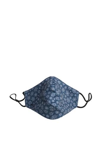 Mango Man blue Reusable Homologated Face Mask 37924ESD425FD0GS_1