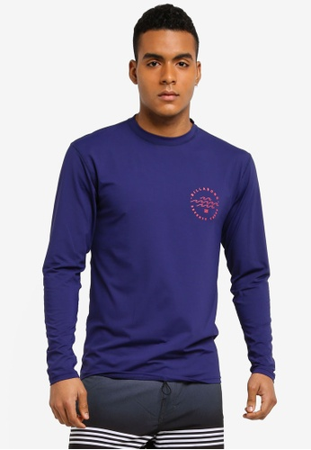 Billabong navy Planet Vibes Surf Long Sleeve Shirt BI783AA0SXI7MY_1