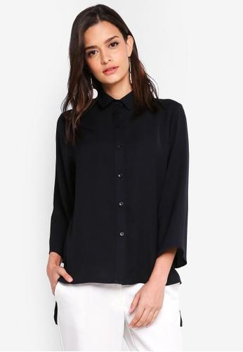 Zalia black Button Down Shirt 0D540AAA9FD1EFGS_1