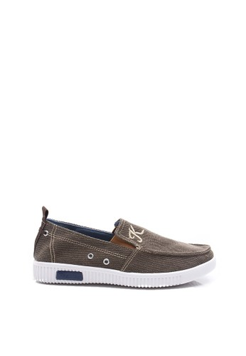 Dr. Kevin brown Dr.Kevin Men Sneaker Slip On 13272 - Brown DR982SH37LZAID_1